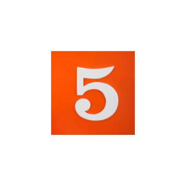 """ΠΙΝΑΚΙΔΑ ΠΛΑΣΤΙΚΗ ΑΥΤΟΚΟΛΛΗΤΗ """"5"""""""