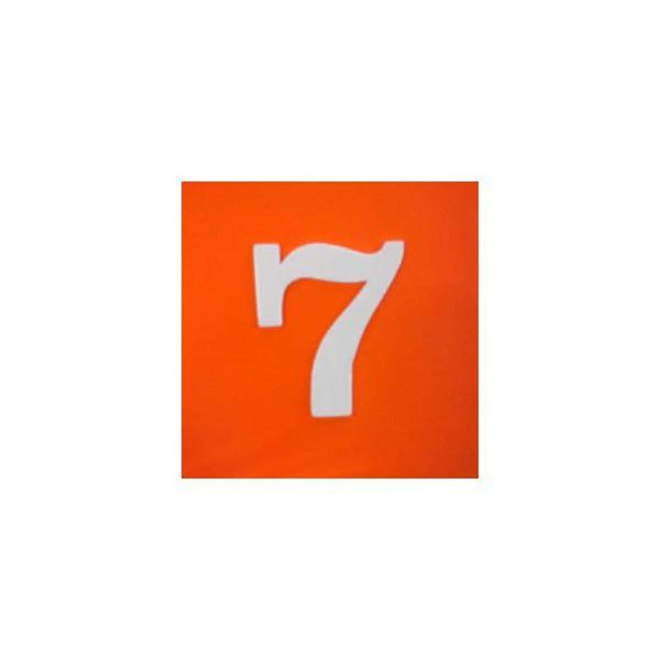 """ΠΙΝΑΚΙΔΑ ΠΛΑΣΤΙΚΗ ΑΥΤΟΚΟΛΛΗΤΗ """"7"""""""