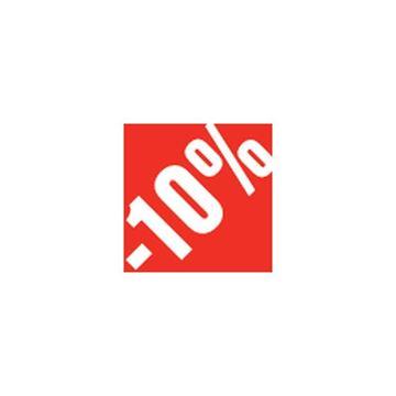 """Εικόνα της ΑΥΤΟΚΟΛΛΗΤΟ """"-10%"""" 500ΤΜΧ 3.3 X 3.3 CM"""
