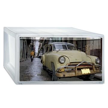 """Εικόνα της ΣΥΡΤΑΡΙ ΑΠΟΘΗΚ/ΣΗΣ ΠΛΑΣΤΙΚΟ """"PHOTOBOX M HABANA CARS"""""""