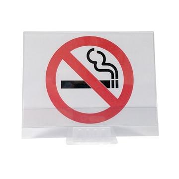 """Εικόνα της ΣΗΜΑΝΣΗ ΕΠΙΤΡΑΠΕΖΙΑ """"ΝΟ SMOKING"""""""
