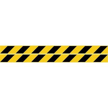 Εικόνα της ΠΙΝΑΚΙΔΑ ΣΗΜΑΝΣΗΣ PVC  ΛΩΡΙΔΕΣ ΓΕΝΙΚΗΣ ΧΡΗΣΗΣ 4,5 Χ 50 CM ΣΥΣΚ. 2ΤΕΜ
